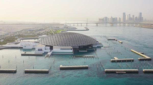 Thiết kế kiến trúc độc đáo của bảo tàng Louvre Abu Dhabi